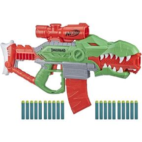 Hasbro Nerf Dinosquad Rex-Rampage Motorized Blaster F0807
