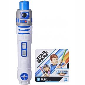Hasbro Star Wars Lightsaber Squad R2-D2 Extendable Blue Lightsaber F1040