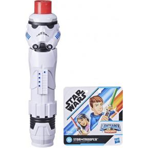 Hasbro Star Wars Lightsaber Squad Imperial Stormtrooper Extendable Red Lightsaber