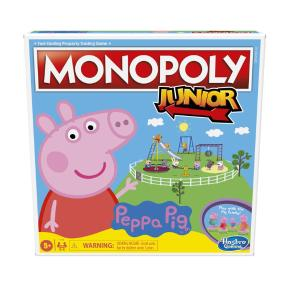 Hasbro Επιτραπέζιο Monopoly Peppa Junior F1656