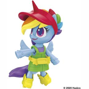 Hasbro My Little Pony Smashin' Fashion Φιγούρα Rainbow Dash 10cm