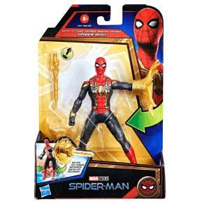 Hasbro Spider-Man: No Way Home Deluxe Action Figures 15cm Wave 1 Spider-Man Web Spin