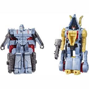 Hasbro Transformers Bumblebee Cyberverse Adventures Slugtron - Megatron & Dinobot Slug 13cm