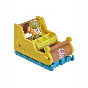 Hasbro Frozen 2 Twirlabouts Φιγούρα 4,5cm Oaken & αξεσουάρ