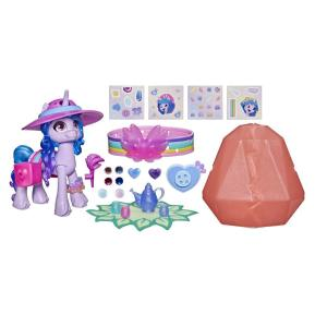 Hasbro My Little Pony A New Generation Movie Crystal Adventure Izzy Moonbow 7cm