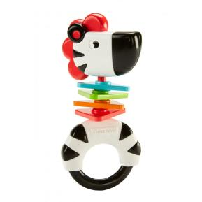 Fisher Price Ζώακι Ζέβρα κουδουνίστρα (FWH54)