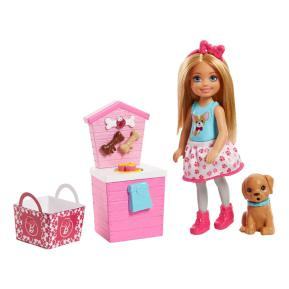 Barbie Τσέλσι Επαγγέλματα Κτηνίατρος (FHP66)
