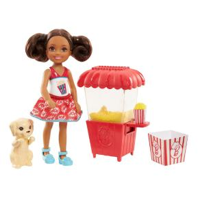 Barbie Τσέλσι Επαγγέλματα Πωλήτρια ποπ κορν (FHP66)