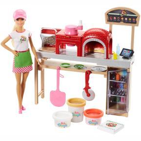 Barbie Σεφ - Εργαστήριο Πίτσας (FHR09)