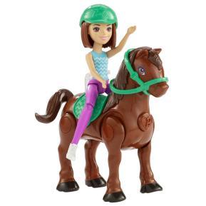 Barbie On The Go - Βολτίτσες Κουκλίτσες Και Πόνυ Καστανή (FHV60)