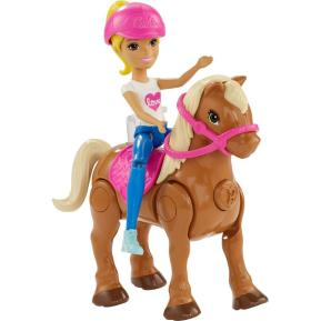 Barbie On The Go - Βολτίτσες Κουκλίτσες Και Πόνυ Ξανθιά (FHV60)