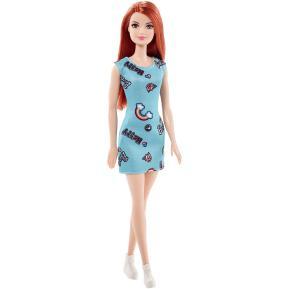 Barbie Μοντέρνα Φορέματα - Γαλάζιο φόρεμα (T7439)