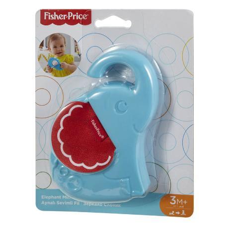 Fisher Price Ζώακι Καθρεφτάκι - ελεφαντάκι (FWH54)-0