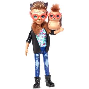 Enchantimals - Κούκλα & Ζωάκι Φιλαράκι - Νέοι Φίλοι Hixby Hedgehog & Pointer