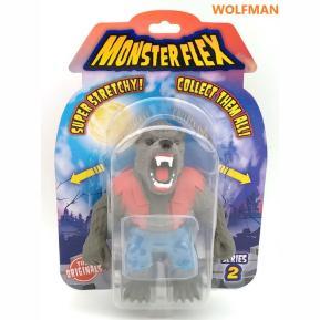 Just Toys Monsterflex Super Stretchy Ελαστική Φιγούρα Series 2 Wolfman
