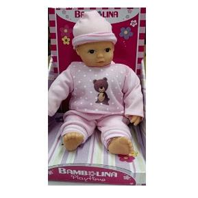 Bambolina Playtime Μωρό 25cm με Ροζ Φορμάκι