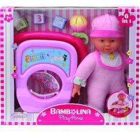 Bambolina Playtime Με Στράτα & Αξεσουάρ 30εκ