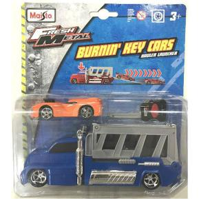 Maisto Fresh Metal Φορτηγάκι Μπλέ- Αυτοκίνητακι με Κλειδί