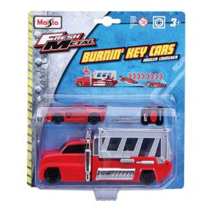 Maisto Fresh Metal Φορτηγάκι Κόκκινο - Αυτοκίνητακι με Κλειδί