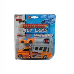 Maisto Fresh Metal Φορτηγάκι Πορτοκαλί - Αυτοκίνητακι με Κλειδί
