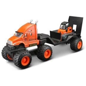 Maisto Builder Zone Quarry Hauler Orange