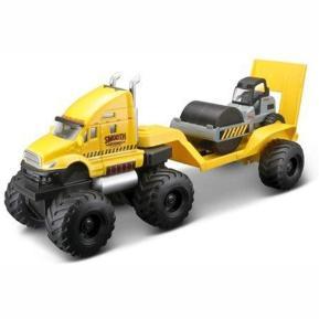 Maisto Builder Zone Quarry Hauler Yellow