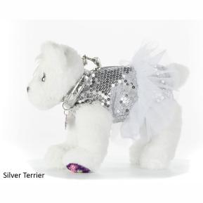 Doggie Star Λούτρινο Τσαντάκι Silver Terrier (2401)