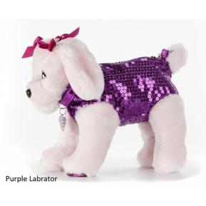 Just Toys Doggie Star Λούτρινο Τσαντάκι Pure Labrator 2401