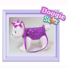 Just Toys Doggie Star Λούτρινο Τσαντάκι Νο7 2401