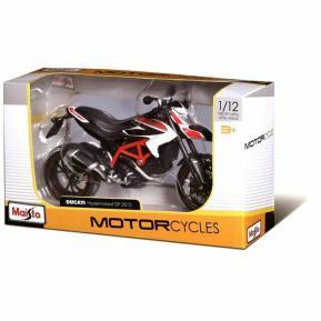 Maisto Μηχανή 1:12 Ducati Hypermotard SP 2013