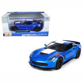 Maisto Special Edition 1:24 Corvette Grand Sport Μπλε