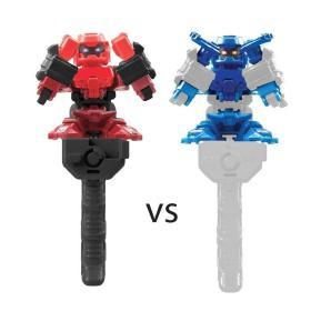 Battle Nox Fighting Σετ των 2 Blue White -Red (9307)