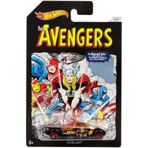Hot Wheels Αυτοκινητάκι Marvel Avengers Bedlam