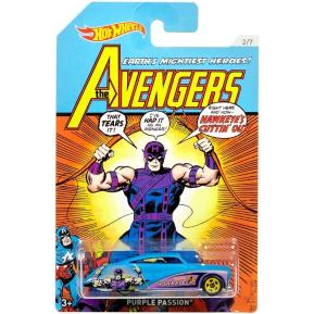 Mattel Hot Wheels Αυτοκινητάκι Marvel Avengers Purple Passion