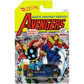 Mattel Hot Wheels Αυτοκινητάκι Marvel Avengers Qombee