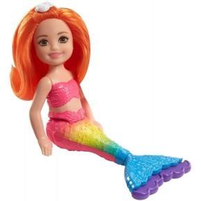 Barbie Chelsea Γοργόνα Ουράνιο Τόξο (FKN03)