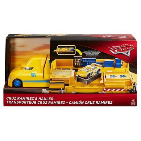 Cars 3 Cruz Ramirez's Hauler Νταλίκα που ανοίγει-3