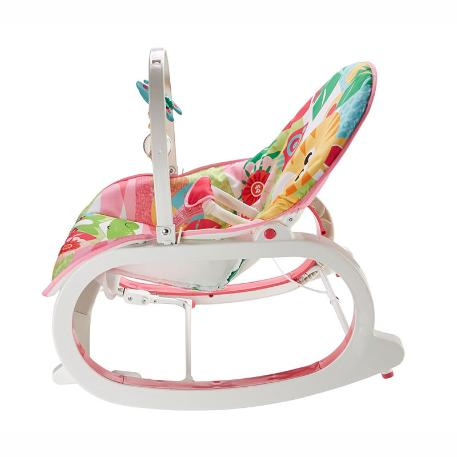 Fisher Price Infant To Toddler -  Ριλάξ/ Κούνια Τιγράκι (FMN40)-3