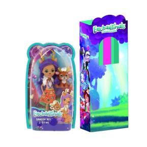 Λαμπάδα Enchantimals Κούκλα και Ζωάκι Φιλαράκι Danessa Deer and Sprint