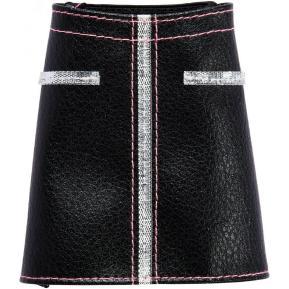 Barbie Fashions Φούστα Δερμάτινη Μαύρη (FYW88)