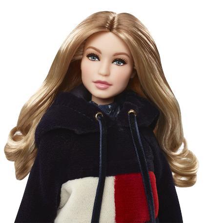Barbie Συλλεκτική - Tommy Hilfiger X Gigi (Black Label)-1