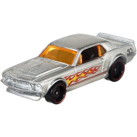 Hot Wheels Επετειακά Αυτοκινητάκια Zamac '67 Ford Mustang Coupe (FRN23)-0