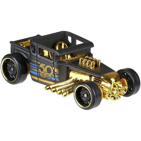 Hot Wheels Επετειακά Αυτοκινητάκια Bone Shaker (FRN33)-0