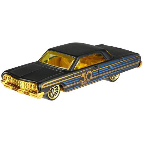 Hot Wheels Επετειακά Αυτοκινητάκια '64 Impala (FRN33)-0