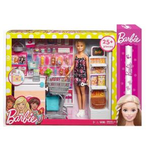 Λαμπάδα Barbie στο σούπερ μάρκετ