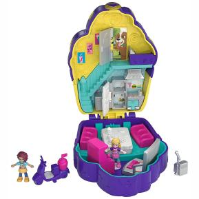 Polly Pocket Μίνι Ο Κόσμος της Polly Σετ Sweet treat compact cupcake (FRY35)