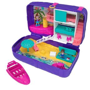 Polly Pocket Polly Mini Τσαντάκι Έκπληξη Beach Vibes (FRY39)