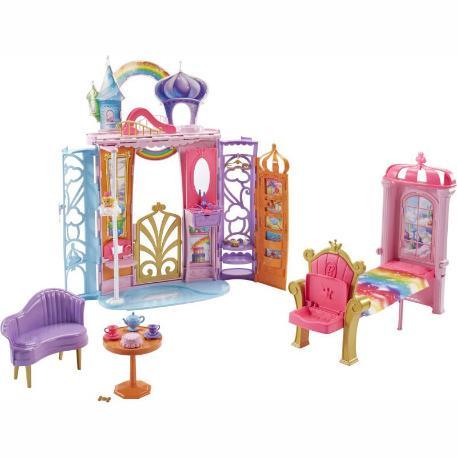 Barbie Παραμυθένιο Καστράκι Βαλιτσάκι (FTV98)-0