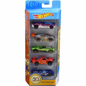 Hot Wheels Αυτοκινητάκια Σετ των 5 Επετειακά FWF98