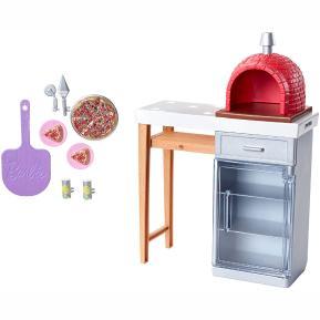 Barbie Έπιπλα Εξωτερικού Χώρου - Brick Pizza Oven (FXG37)